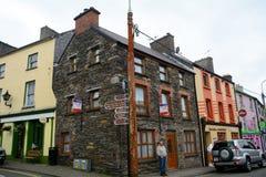 Gammal stad, Dingle, Irland Fotografering för Bildbyråer