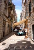 Gammal stad Dubrovnik Arkivfoto