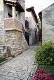 gammal stad för 18 adriatic arkivbild