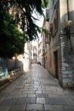gammal stad för 19 adriatic arkivbild
