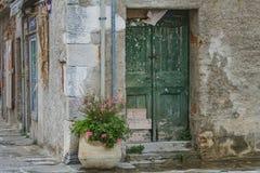 Gammal stad Grado, Italien royaltyfri bild