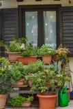 Gammal stad Grado, Italien arkivbilder