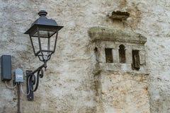 Gammal stad Grado, Italien arkivbild