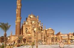 Gammal stad i Egypten Arkivbilder