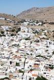 Gammal stad i Grekland Fotografering för Bildbyråer
