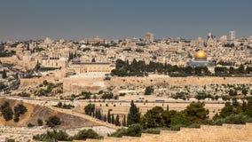 Gammal stad i Jerusalem Royaltyfri Fotografi
