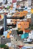 Gammal stad i Las Palmas de Gran Canaria arkivbild