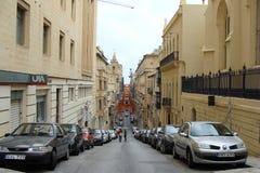 Gammal stad i Malta Fotografering för Bildbyråer