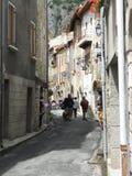 Gammal stad, i söderna av Frankrike Royaltyfria Foton