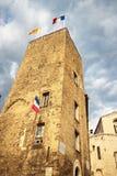 Gammal stad i stad av Grasse Fotografering för Bildbyråer