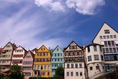 Gammal stad i Tyskland Arkivfoto