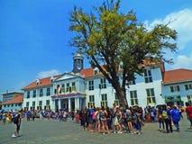 Gammal stad Jakarta eller Kota Tua Jakarta Utara arkivfoto