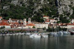 Gammal stad Kotor Montenegro Arkivbilder