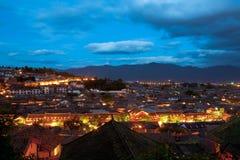 Gammal stad Lijiang Royaltyfria Foton