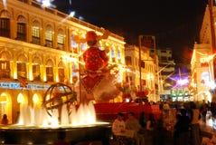 Gammal stad, Macao Arkivfoton
