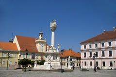 Gammal stad, Osijek, Kroatien Fotografering för Bildbyråer