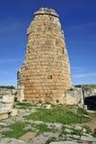 Gammal stad Perga, Turkiet Arkivfoto