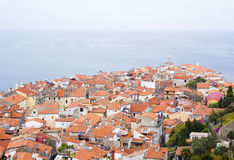 Gammal stad Piran Royaltyfri Fotografi
