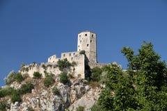 Gammal stad Pocitelj Bosnien och Hercegovina Arkivfoton