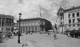 Gammal stad Riga Arkivfoto
