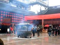 Gammal stad, Shanghai Arkivfoton