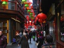 Gammal stad, Shanghai Fotografering för Bildbyråer