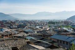 Gammal stad, Shangri-La Royaltyfria Foton