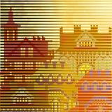Gammal stad texturerad bakgrund Royaltyfria Foton