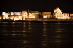 Gammal stad Torun, Polnad royaltyfria foton