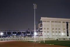 gammal stadionyankee royaltyfri foto