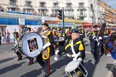 Gammal stadkarneval, Hastings royaltyfri fotografi