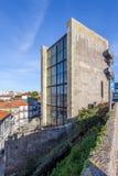 Gammal stadshusbyggnad av staden av Porto - den Antiga casaen da Câmara Royaltyfri Bild