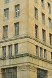 Gammal stadsmång--våning byggnad Royaltyfri Foto