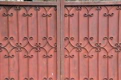 Gammal staketbakgrund Royaltyfri Foto