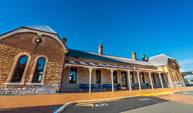 Gammal station av Dubbo Arkivbilder