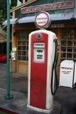 gammal station för gas Royaltyfri Fotografi