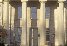 Gammal statlig Kapitolium av Iowa, Iowa City, Iowa royaltyfri fotografi