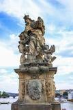 Gammal staty Royaltyfri Foto