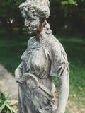 Gammal staty, från den gamla koloniinvånaren Brasilien Arkivfoto