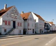 gammal stavanger town Royaltyfria Bilder