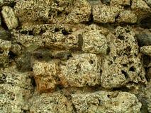 Gammal-sten bakgrund Arkivfoto