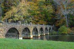 gammal sten för bro Royaltyfri Foto