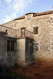 gammal sten för hus Royaltyfria Bilder
