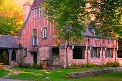 gammal sten för hus Fotografering för Bildbyråer