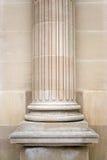 gammal sten för kolonn Arkivfoton