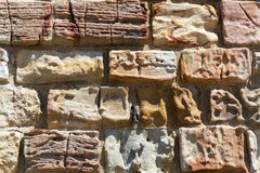 Gammal stenhuggeriarbetetextur Arkivbild