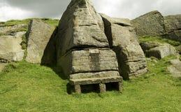Gammal stenplats Arkivfoto