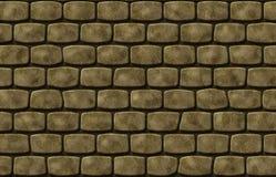 gammal stenvägg Stock Illustrationer