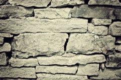 gammal stenvägg Arkivbilder