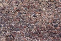 Gammal stenvägg. Arkivfoton